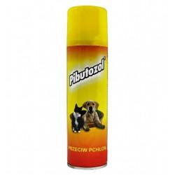 Spraying on fleas